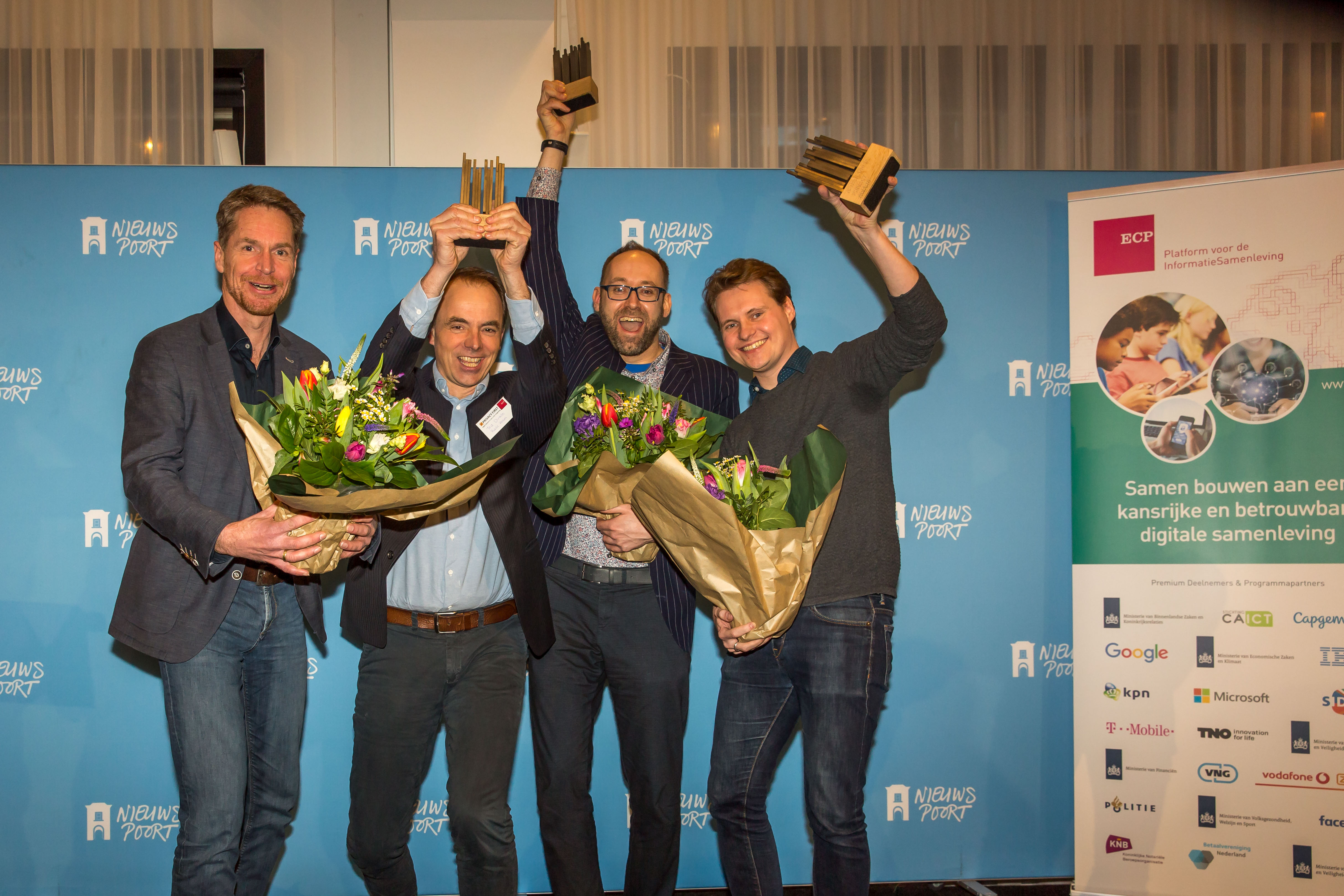 winnaars Nederlandse Privacy Awards 2020