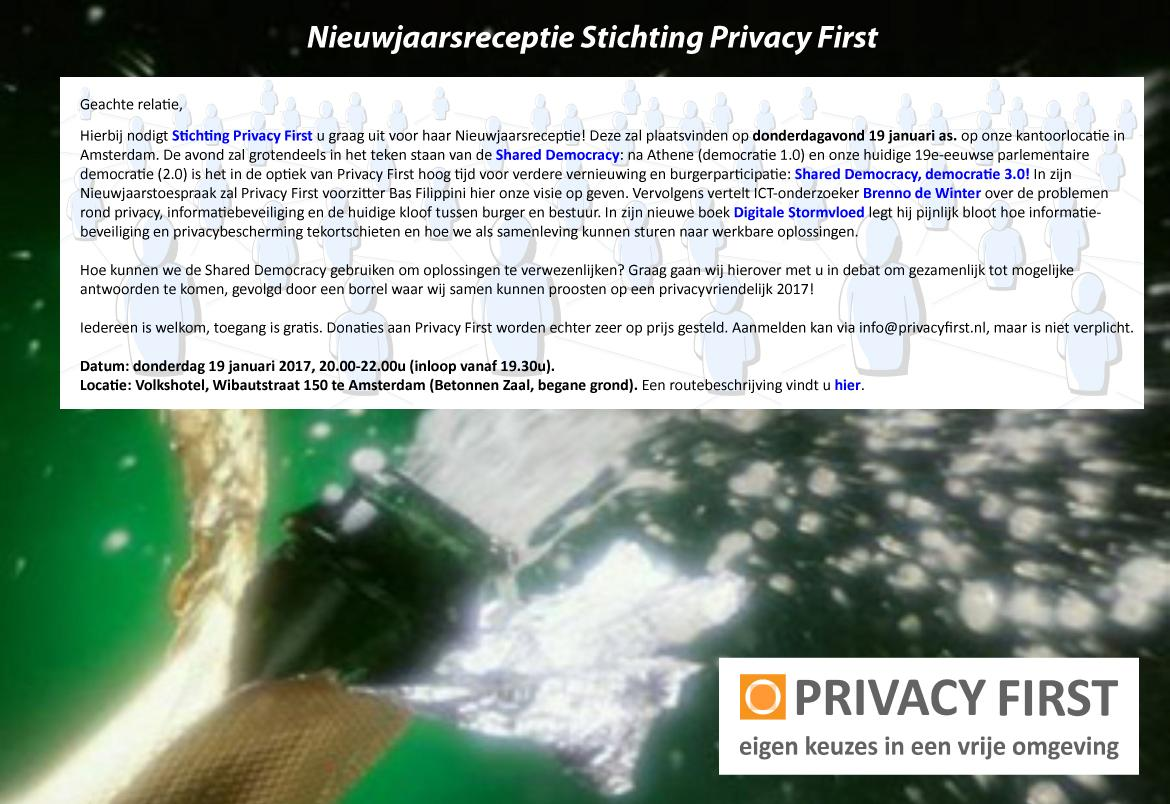 uitnodiging PrivacyFirst jan2017