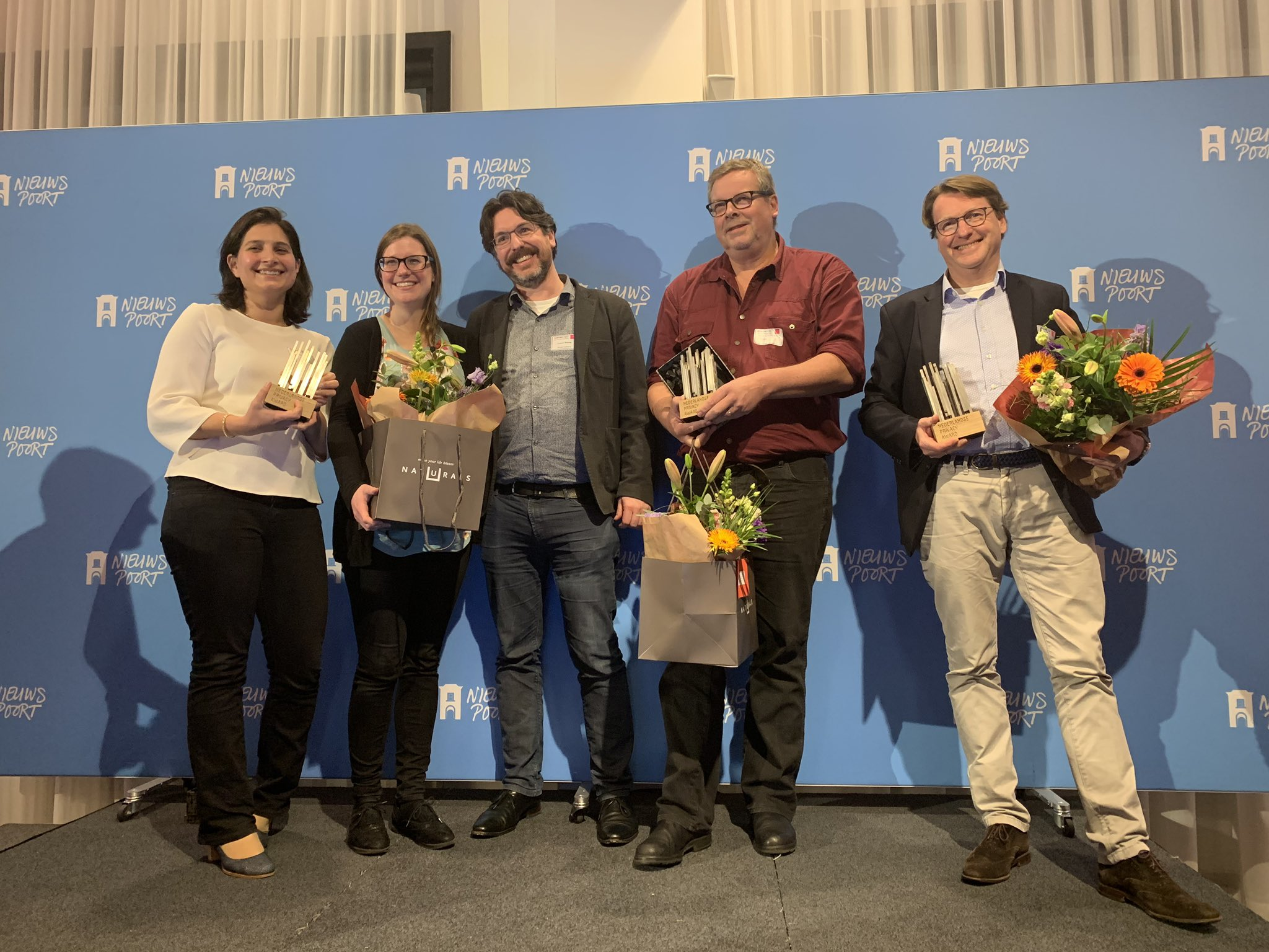 Winnaars Nederlandse Privacy Awards 2019