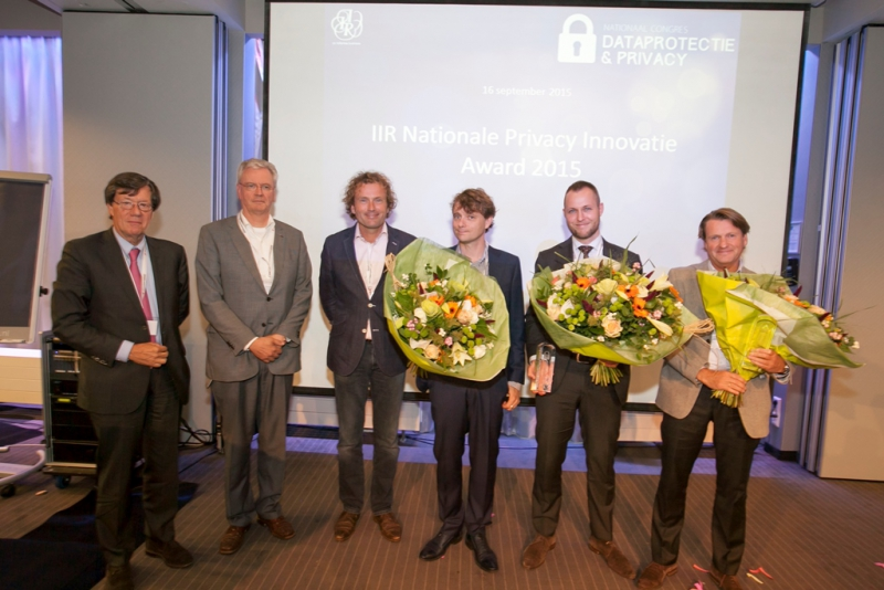 Winnaars IIR Nationale Privacy Innovatie Award 2015 bekend